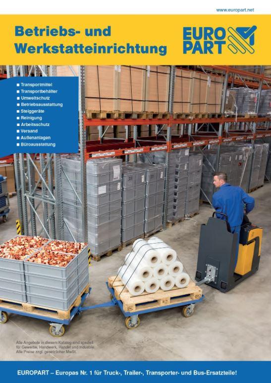 Neuer Europart Katalog Betriebs Und Werkstatteinrichtung